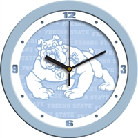 "Fresno State Bulldogs 12"" Wall Clock - Blue"