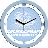 "Gonzaga Bulldogs 12"" Wall Clock - Blue"