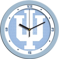 "Indiana Hoosiers 12"" Wall Clock - Blue"
