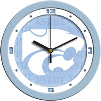 "Kansas State Wildcats 12"" Wall Clock - Blue"