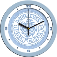 "Louisiana Lafayette Ragin' Cajuns 12"" Wall Clock - Blue"