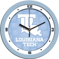 "Louisiana Tech Bulldogs 12"" Wall Clock - Blue"