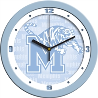 "Memphis Tigers 12"" Wall Clock - Blue"