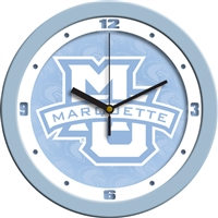 "Marquette Golden Eagles 12"" Wall Clock - Blue"