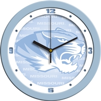 "Missouri Tigers 12"" Wall Clock - Blue"