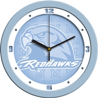"Miami University Ohio Redhawks 12"" Wall Clock - Blue"