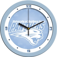 "Northern Iowa Panthers 12"" Wall Clock - Blue"