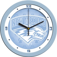 "New Mexico Lobos 12"" Wall Clock - Blue"