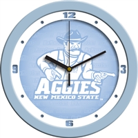 "New Mexico State (NMSU) Aggies 12"" Wall Clock - Blue"