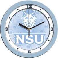 "Northwestern State Demons 12"" Wall Clock - Blue"