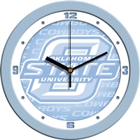 "Oklahoma State Cowboys 12"" Wall Clock - Blue"