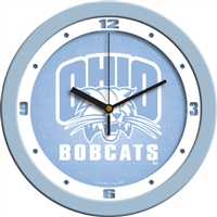 "Ohio Bobcats 12"" Wall Clock - Blue"