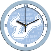 "South Florida Bulls 12"" Wall Clock - Blue"