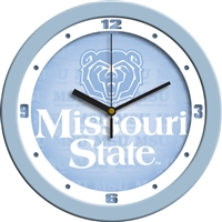 "Missouri State Bears 12"" Wall Clock - Blue"