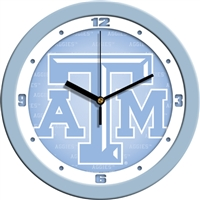 "Texas A&M Aggies 12"" Wall Clock - Blue"