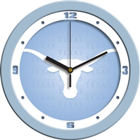 "Texas Longhorns 12"" Wall Clock - Blue"