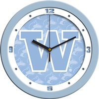 "Washington Huskies 12"" Wall Clock - Blue"
