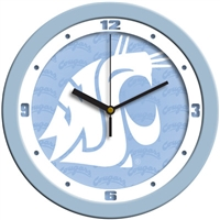 "Washington State Cougars 12"" Wall Clock - Blue"