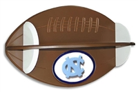 North Carolina Tar Heels Football Shelf