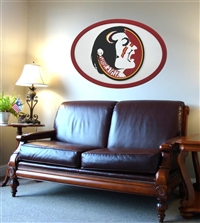 Florida State Seminoles Logo Wall Art