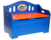 Florida Gators Painted Bench