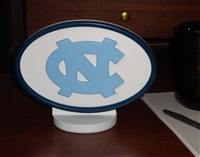 North Carolina Tar Heels Desk Logo Art