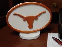 Texas Longhorns Desk Logo Art