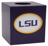 Louisiana State (LSU) Tigers Tissue Box Cover