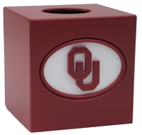 Oklahoma Sooners Tissue Box Cover