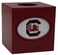 South Carolina Gamecocks Tissue Box Cover