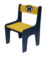 Michigan Wolverines Child Team Spirit Chair