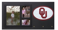 Oklahoma Sooners Key Holder with Picture Frame