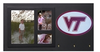 Virginia Tech Hokies Key Holder with Picture Frame