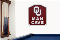 Fan Creations Oklahoma Sooners Man Cave Shield