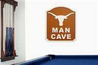 Texas Longhorns   Man Cave Shield
