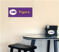 Louisiana State (LSU) Tigers  Man Team Name Plaque