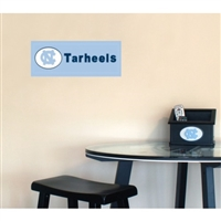 Fan Creations North Carolina Tar Heels Team Name Plaque