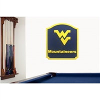 Fan Creations West Virginia Mountaineers Team Name Shield