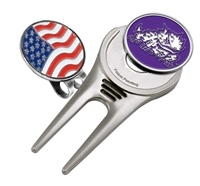 Texas Christian Horned Frogs TCU Cap Tool w/ Ball Marker