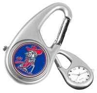 Mississippi Ole Miss Rebels Carabiner Watch