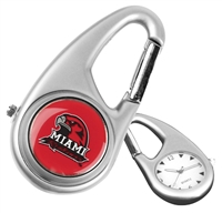 Miami Ohio Redhawks Carabiner Watch