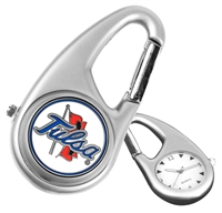 Tulsa Golden Hurricane Carabiner Watch