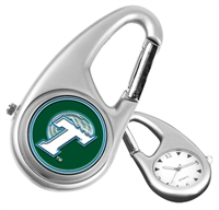 Tulane Green Wave Carabiner Watch