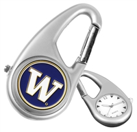 Washington Huskies Carabiner Watch