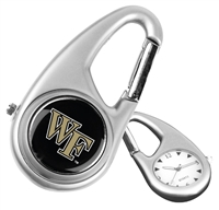 Wake Forest Demon Deacons Carabiner Watch