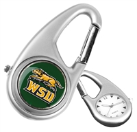 Wright State Raiders Carabiner Watch