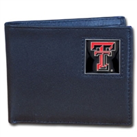 Texas Tech Red Raiders Leather Bifold
