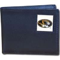 College Bi-fold Wallet - Missouri Tigers