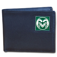 Colorado State Rams Leather Bifold
