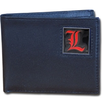 Louisville Cardinals Leather Bifold